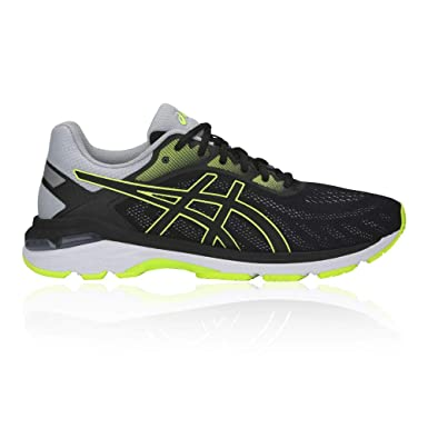 ASICS Chaussure de Running Gel Pursue 5 Noir Vert: Amazon